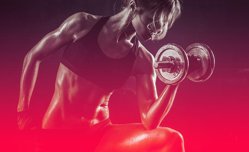 γυμναστική με βάρη για γυναίκες